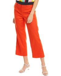 J.Crew Linen-blend Pant - Red
