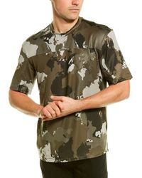 adidas Continent Camo City Performance Fit T-shirt - Green