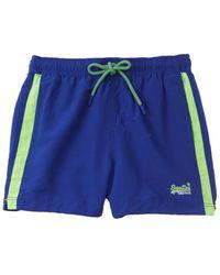 Superdry Beach Volley Swim Short - Blue