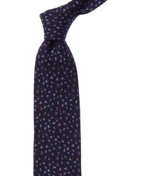 Bonobos Blue Corn Villapool Floral Wool Tie
