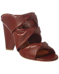 Derek Lam Gaia Leather Sandal - Brown