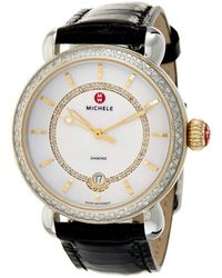 Michele Csx Elegance Watch - Metallic