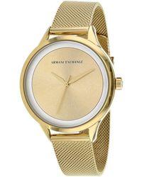 Armani Exchange Women's Classic Watch - Metallic