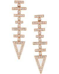 Dana Rebecca - Designs Jeb 14k Rose Gold 0.75 Ct. Tw. Diamond Earrings - Lyst