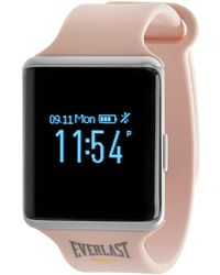 Everlast Tr10 Activity Tracker With Heart Rate & Blood Pressure Monitor - Includes Caller Id And Message Previews - Multicolour