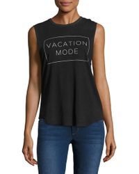 Tyler Jacobs X Feel The Piece - Vacation Mode Cut-off Tank - Lyst