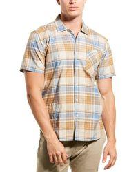 Billy Reid Scout Regular Fit Woven Shirt - Natural