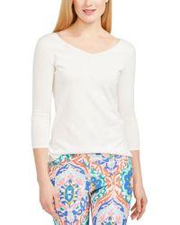 J.McLaughlin Kemp Cashmere-blend Sweater - White