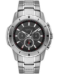 Caravelle NY Caravelle Men's Stainless Steel Watch - Metallic