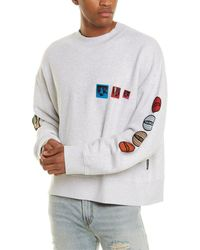 Palm Angels Patched Sweatshirt - Multicolor