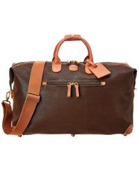 Bric's Life Speciale 22in Duffle - Brown
