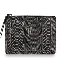 Giuseppe Zanotti - Printed Leather Pouch - Lyst