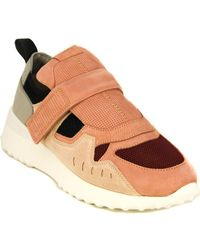 Tod's Tod?s Low-top Suede Trainer - Multicolour