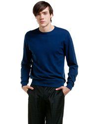 Valentino Supervee Small Leather Crossbody - Blue