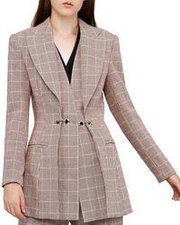 Acler Fairfax Wool-blend Blazer - Multicolour