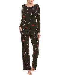Betsey Johnson - 2pc Keep Dreaming Pyjama Set - Lyst