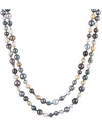 Splendid - 9-12mm South Sea & Tahitian Pearl Endless 64in Necklace - Lyst