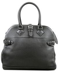 Hermès Grey Leather Purses Wallets & Cases - Black