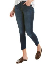 7 For All Mankind 7 For All Mankind Gwenevere Hilton Island Ankle Cut - Blue