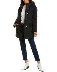 Woolrich Luxury Arctic Wool & Cashmere-blend Trim Parka - Blue