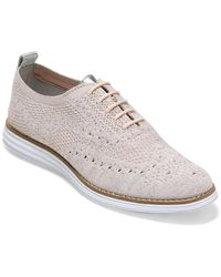 Cole Haan Og Grand Wingtip Oxford - White