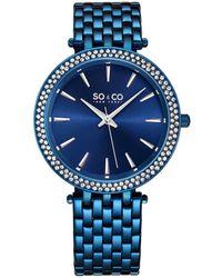 SO & CO Women's Madison Watch - Blue