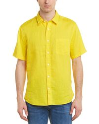 Vince Linen Shirt - Yellow