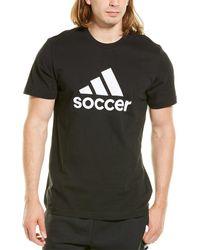 adidas Badge Of Sport Soccer T-shirt - Black