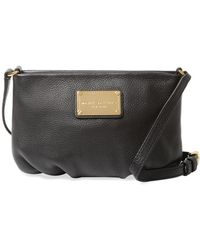 Marc Jacobs Classic Percy Leather Crossbody - Black