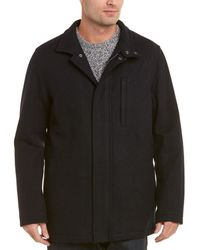 Brooks Brothers Wool-blend Walking Coat - Blue