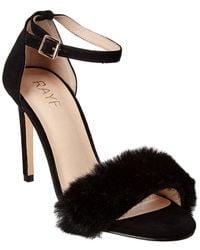 RAYE Holmes Leather Sandal - Black