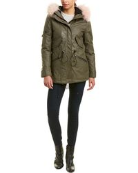 Sam. Mini Hudson Coat - Green