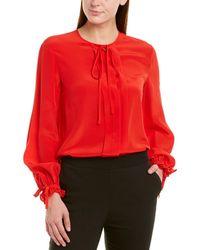 ESCADA Silk Top - Red
