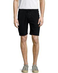 The Kooples Sport - Solid Mesh Elasticized Shorts - Lyst