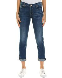 7 For All Mankind 7 For All Mankind Josefina Amuse Skinny Boyfriend Cut - Blue