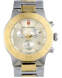 Tonino Lamborghini En Models Men's Quartz Chronograph Watch - Metallic