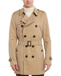 Burberry Kensington Mid-length Trench Coat - Brown