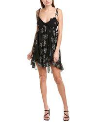 Karina Grimaldi Saralyn Mini Dress - Black