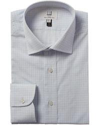 Dunhill Tailored Fit Dress Shirt - Blue