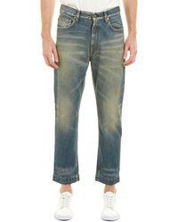 Gucci Sixties Stonewash Straight Leg Jean - Blue