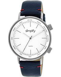 Simplify Unisex The 3000 Watch - Multicolor