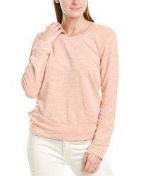 Monrow Supersoft Sweatshirt - Pink