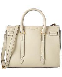 Rebecca Minkoff Sherry Leather Satchel - Natural