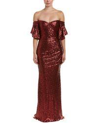 Badgley Mischka Gown - Red