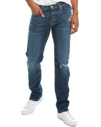 7 For All Mankind 7 For All Mankind Slimmy Blt2 Slim Straight Jean - Blue