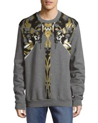 Roberto Cavalli - Tiger Cotton Woven Sweatshirt - Lyst