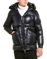 Moncler Down Coat - Blue