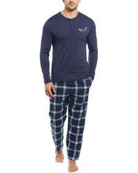 Lucky Brand 2pc Sleepwear Set - Blue