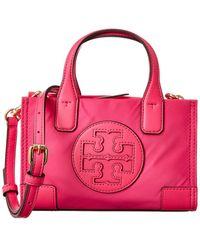 Tory Burch Micro Ellla Tote - Pink