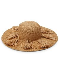 San Diego Hat Company Beach Comber Straw Hat - Natural